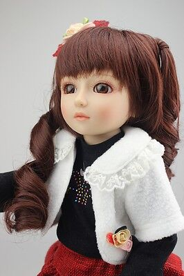 New 1/4 Handmade PVC BJD MSD Lifelike Doll Joint Dolls Baby Toy New Ophelia Gift