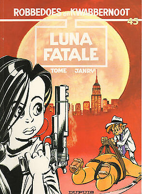 Robbedoes & Kwabbernoot 45 - Luna Fatale