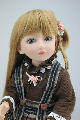 New 1/4 Handmade PVC BJD MSD Lifelike Doll Joint Dolls Baby Toy New Roxanne Gift