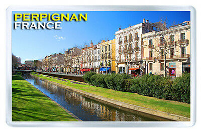 Perpignan France Fridge Magnet Souvenir Iman Nevera