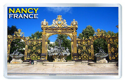 Nancy France Fridge Magnet Souvenir Iman Nevera