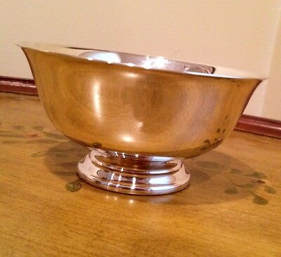 Reed & Barton Revere Bowl #102 - Silverplate - Revereware SALE