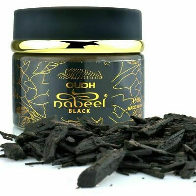Oudh Etisalbi Black Burning Incense (60gms) Oudh Chips By Nabeel