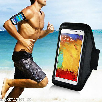Sports Armband Running Gym Jogging Case Etui Samsung Galaxy Note 4 5 IV V AB-N4