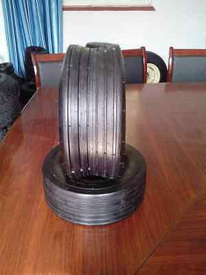 (2-Tires) 16x6.50-8 4PR 16x6.5-8, 166508 Ribbed Tubeless Lawn Mower Tire (T157)