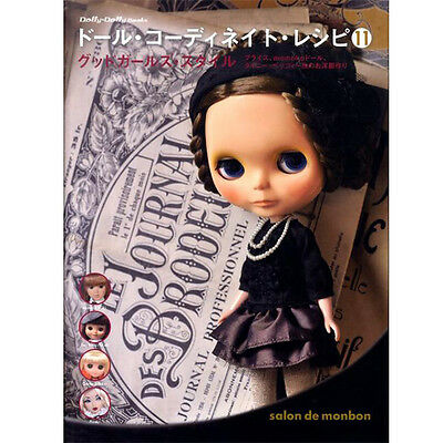 DOLL COORDINATE RECIPE 11 - Japanese Doll's Clothes Pattern Book Blythe Outfit
