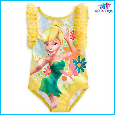 8ce63e9fe6 Disney Fairies Tinkerbell Swimsuit for Girls Sizes 3 - 8 Brand new with tags