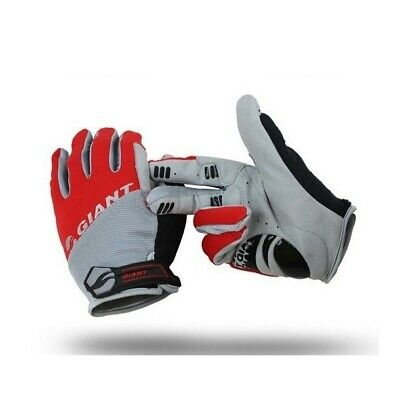 Brand Giant Full Finger Men Cycling Gloves Mountain bike silicone breathable