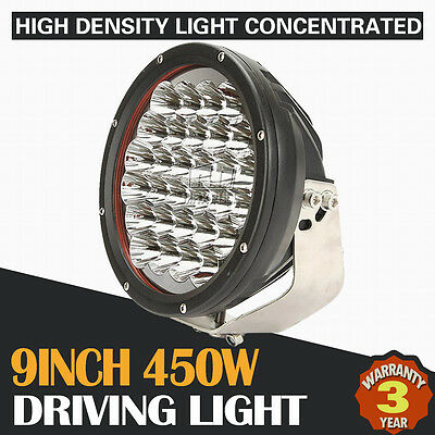 """9Inch 450W Cree Led Driving Light Offroad Spot Flood Combo 4X4Wd Replace Hid 7"""""""