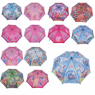 Kids Boys Girls Umbrella Raincoat Parasol Sunshade Rainproof Child Juniors Gift