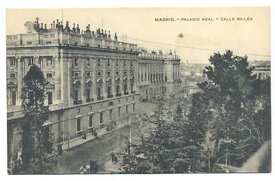 Cr  Postal Madrid Palacio Real