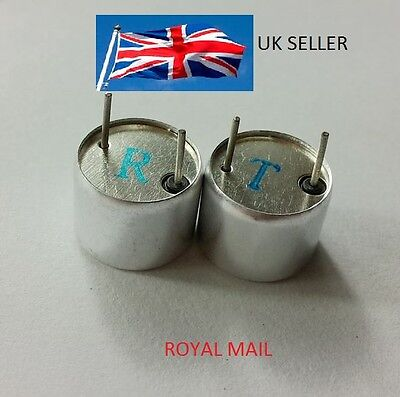 Ultrasonic Sensor Receiver Transmitter 16mm Diameter 40KHz UK SELLER #U1