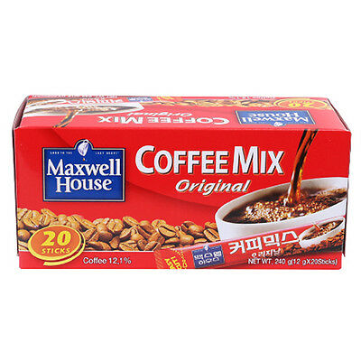 Maxwell House Original Coffee Mix 20T (12g X 20) Powder Easy Stick Type Korea