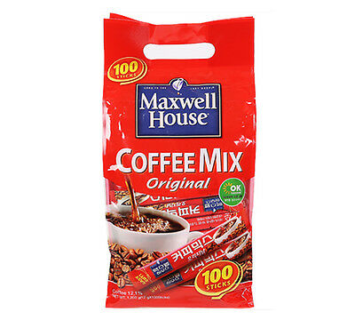 Maxwell House Original Coffee Mix 100T (12g X 100) Powder Easy Stick Type Korea
