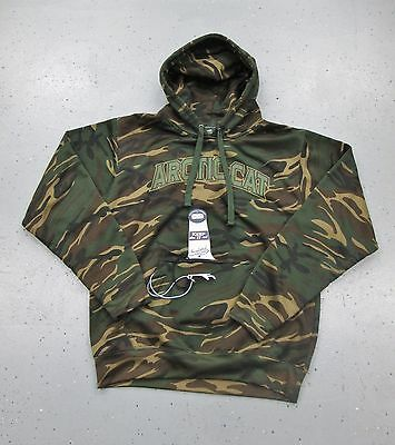 Men's Arctic Cat Camo Koozie Hoodie Hooded Sweatshirt L Large 5269-734 CLEARANCE
