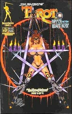 Tarot Witch of the Black Rose 21 a Broadsword Jim Balent sexy NM FREE UK POSTING