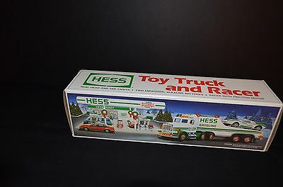 1991 Hess Toy Truck And Racer - New