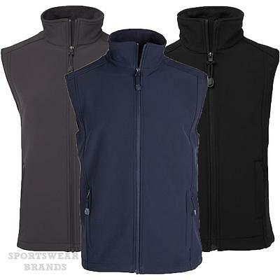 Mens Outdoor Soft Shell Layer Vest Navy Charcoal Black Warm Winter New 3JLV