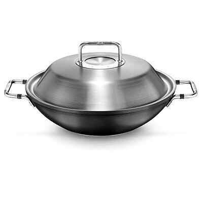 Fissler Wok Luno 31 cm Induction New Original Box