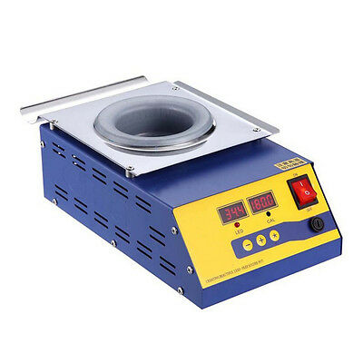 Woo 220V 400W Lead-free Solder Pot/Solder Machine Soldering Melting Tin Cans