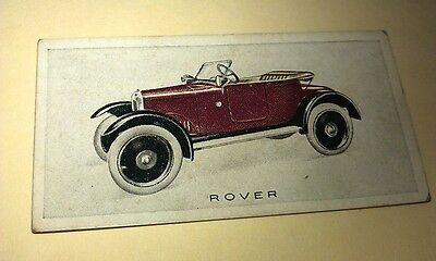 1923 ROVER 8hp   Orig Wills Cigarette Card New Zealand
