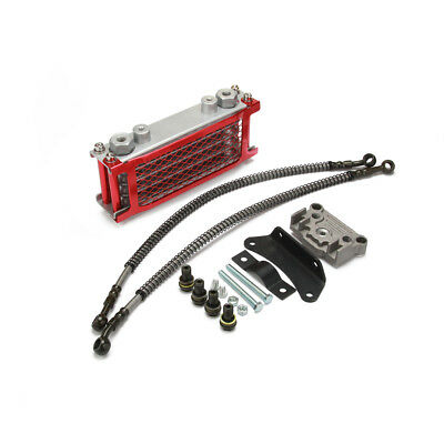 Oil Cooler Radiator fr Loncin Zongshen Lifan Shineray Yinxiang Engine Motorcycle