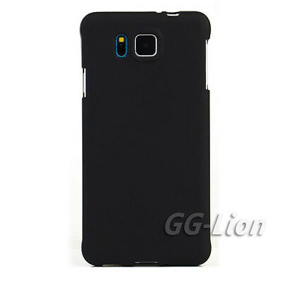 Black TPU Matte Gel Cover Case for Samsung Galaxy Alpha Alfa G850A G850F G850T