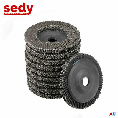 50 PC 125mm 22mm Heavy Duty Flap Disc Wheel Angle Grinder Metal Grinding Sanding