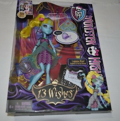 Monster High 13 Wishes Lagoona Blue Daughter Of The Sea Monster