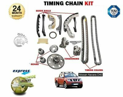 For Nissan Navara D40 2.5Td Dci Outlaw 2006-2010 New Timing Cam Chain Kit Set