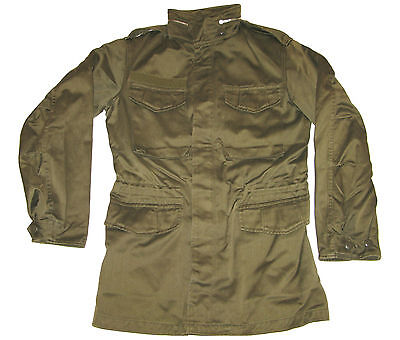 Genuine Austrian Army OBH M65 Military Olive Drab Field Jacket Vintage Coat