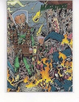 1994 Topps Mars Attacks Base Series #67 The Comics Issue #1 Keith Griffen Cover