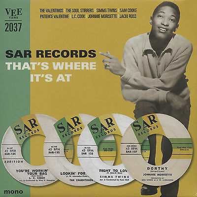 Various - Sar Records - That's Where It's At (25cm LP) Limited Edition - Viny...