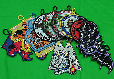 Scout Trading Patches New Unissued Lot of 12 Patches