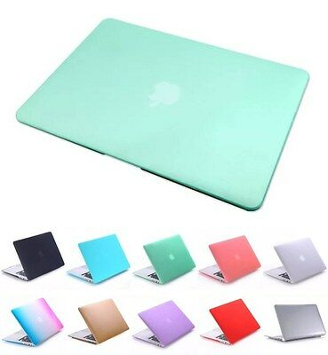 "Rubberized Matte Hard Cover Scrub Case For Macbook Air 13"" 13.3 inch Mac Book"