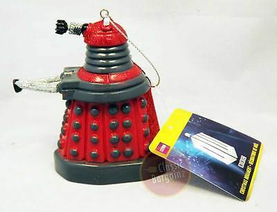 "Doctor Who - 4.5"" Blow Mold Xmas Ornament - Dalek NEW Christmas Tree Decoration"
