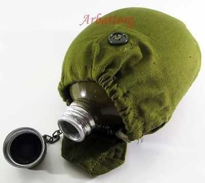 Details about  NEW ORIGINAL SOVIET RUSSIAN ARMY FLASK MILITARY WATER VODKA CANT