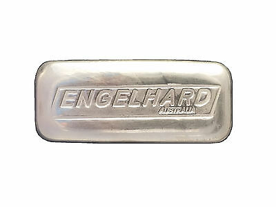 5 oz silver bar - Engelhard Australia - Cast .999 bullion