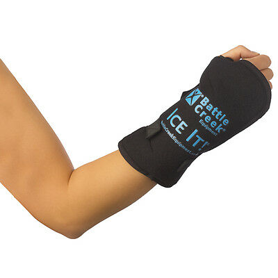 """Ice It! ColdCOMFORT Wrist Therapy System Ice Pack 5"""" x 7"""" For Wrist Pain"""