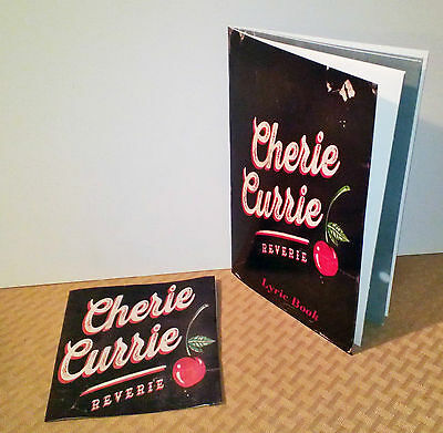 The Runaways Singer Cherie Currie NEW Reverie CD with Lyric Book Free Shipping