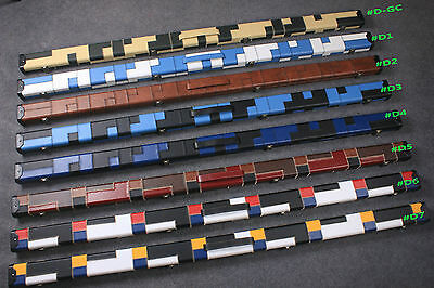 One Piece Patchwork Snooker Cue  Case With 2 Slots Free Shipping