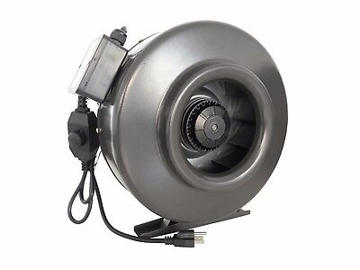 """4"""" 6"""" 8"""" 10"""" 12"""" Inline Duct Booster Blower Fan with Variable Speed Controller"""