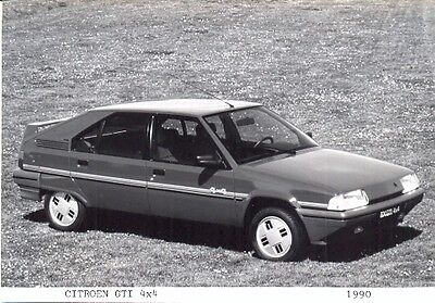Citroen BX GTI 4x4 1990 - original press photo