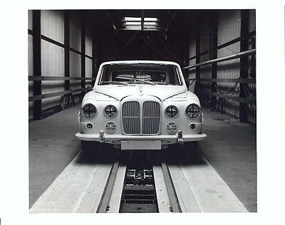 Daimler Limousine original press photo - crash testing