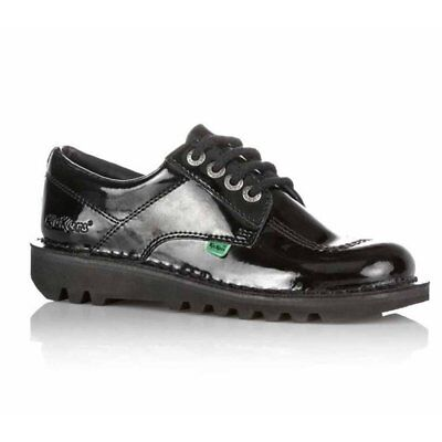 Kickers KL BTS Core Patent Leather Black (N92) 1-10688 Ladies Shoes All Sizes