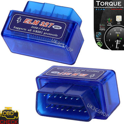 V1.5 ELM327 Bluetooth OBD2 Scanner Petrol Diesel Car OBD Diagnostic Code Reader