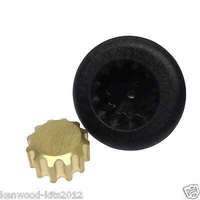 Kitchenaid Blender Drive Coupler & Replacement Gear. Fits New Style Blenders.