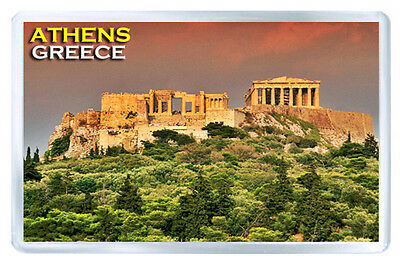 Athens Greece Fridge Magnet Souvenir Iman Nevera