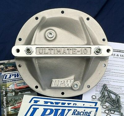 Gm/chevy 10 Bolt  Rear End 8.2 & 8.5 Diff Girdle Lpw Ultimate Support Cover