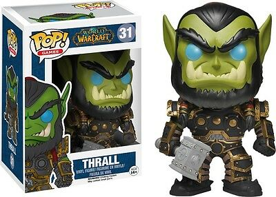World of Warcraft - Thrall Pop! Vinyl Figure NEW In Box Funko